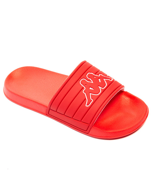 logo matese red white slides kappa usa