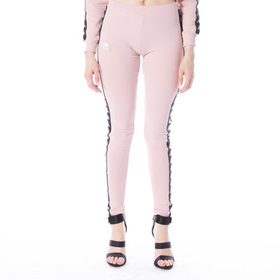222 Banda Anen Leggings - Pink Black