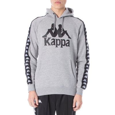 222 Banda Hurtado Hoodie - Grey Black White