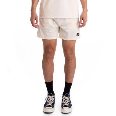 Kappa 222 Banda Cole Beige Grey Silver Black Shorts