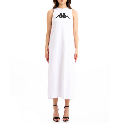 Kappa Authentic Jpn Banoy White Red Black Dress
