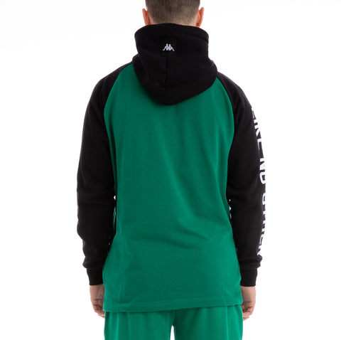 Kappa Authentic Baolin Green Black Jacket