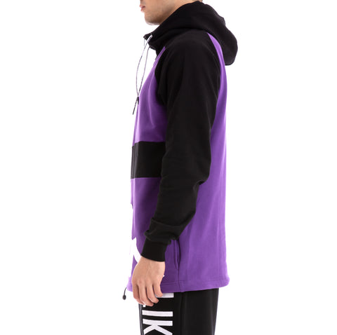 Kappa Authentic Baolin Violet Pansy Black Jacket