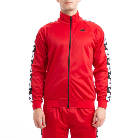 Kappa Authentic Anne Disney Red Black Track Jacket