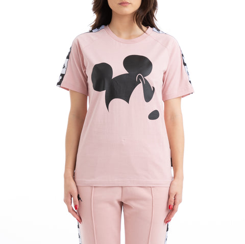 Authentic Alvar Disney Pink Dusty Black T-Shirt