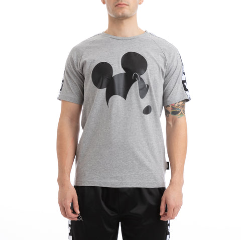 Kappa Authentic Alvar Disney Grey T-Shirt