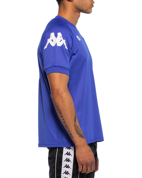 Kappa Mens Authentic Walson Blue Jersey - Side 2