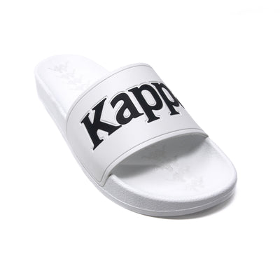222 Banda Adam 9 Slides - White Black Grey