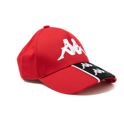 222 Banda Baset Cap - Red White