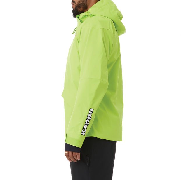 Kappa 6Cento 611 Fisi Ski Jacket - Lime Green