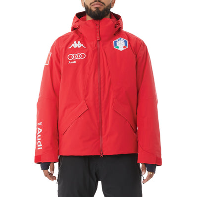 6Cento 611 Fisi Ski Jacket - Red