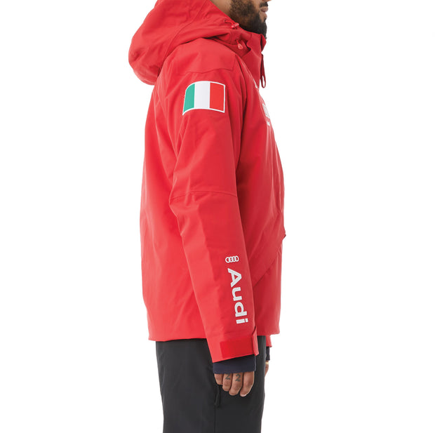Kappa 6Cento 611 Fisi Ski Jacket - Red