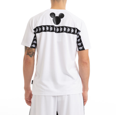 Kappa Authentic Balali Disney White Black T-Shirt