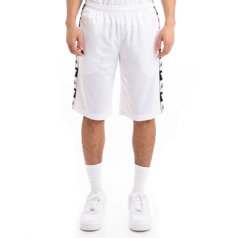 Kappa Authentic Arwell Disney White Black Shorts