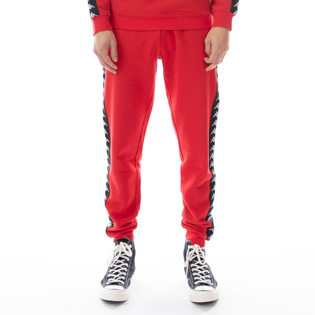 222 Banda Alanz Sweatpants - Red Black