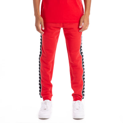 222 Banda Alanz Red Black Sweatpants