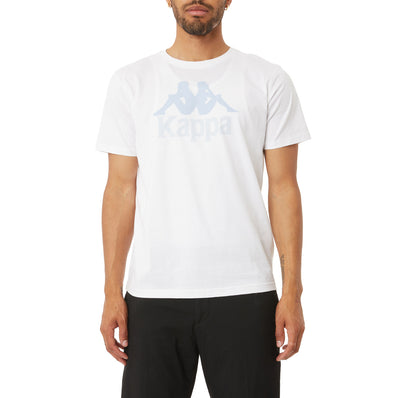 Authentic Estessi T-Shirt - White Blue Sky