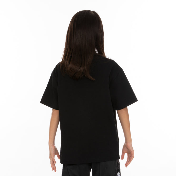 Kids Authentic Estessi T-Shirt - Black Red Yellow