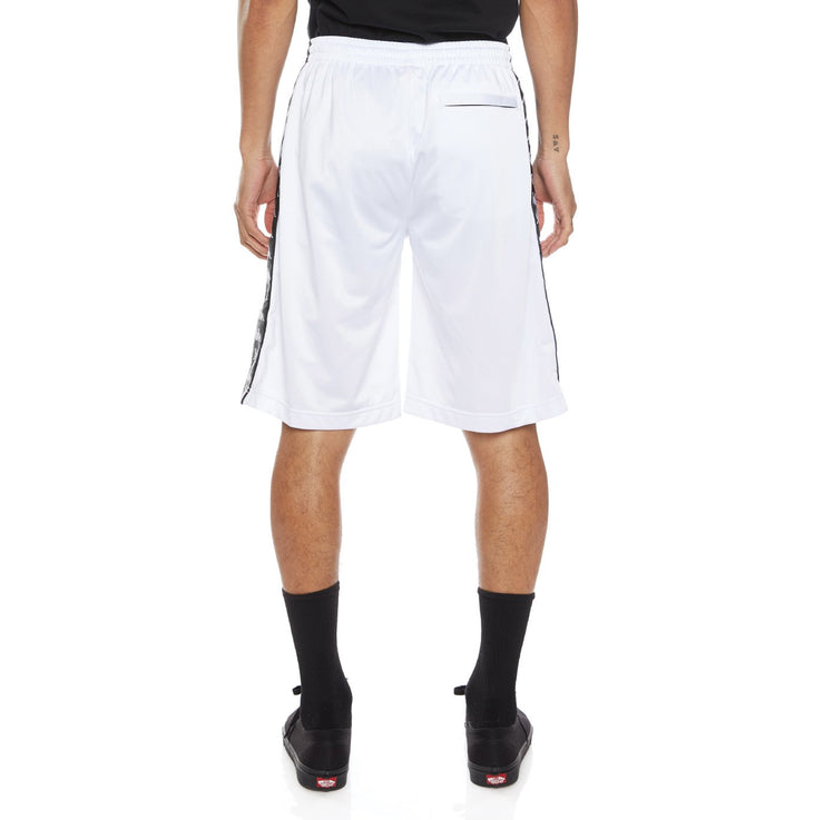 222 Banda Treadwellz Shorts - White Black