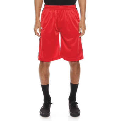 222 Banda Treadwellz Shorts - Red Black