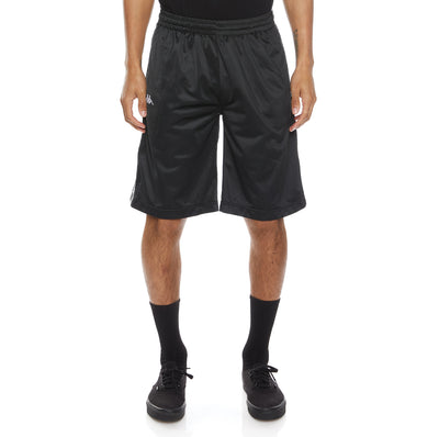 222 Banda Treadwellz Shorts - Black White Black