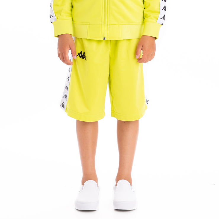 Kids 222 Banda Treadwellz Shorts Green Lime White