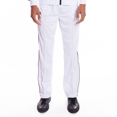 Kappa 222 Banda Astoriazz Trackpants - White Black