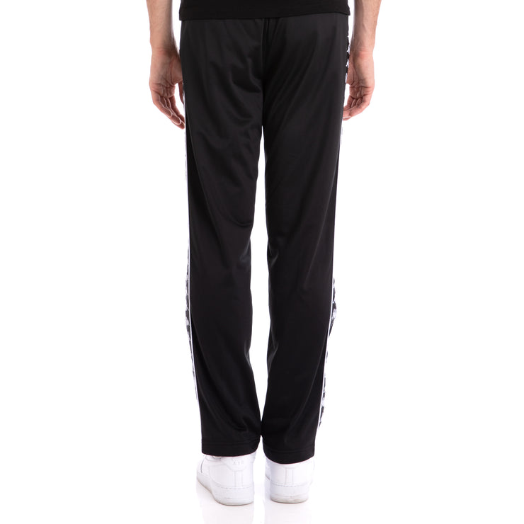 Kappa 222 Banda Astoriazz Black Black Trackpants