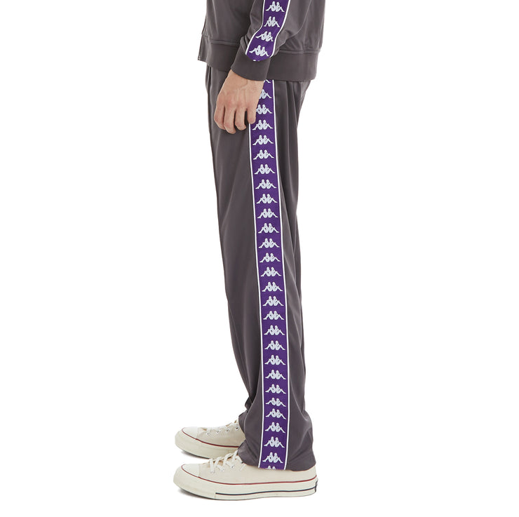 Kappa 222 Banda Astoriazz Trackpants - Dark Grey Violet Indigo