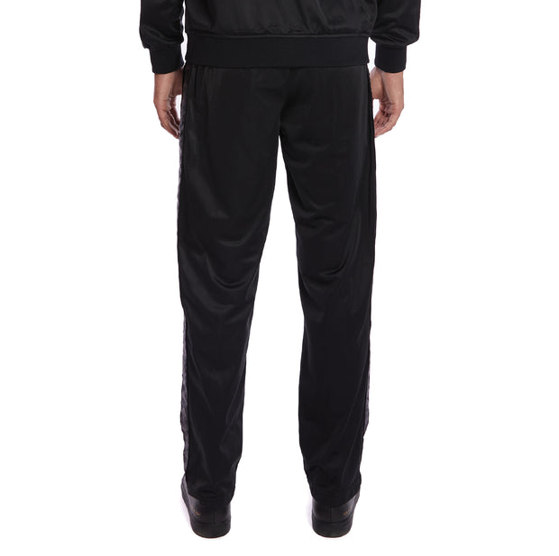 Kappa 222 Banda Astoriazz Trackpants - Black Dark Grey