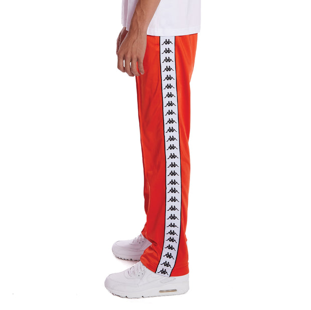 Kappa 222 Banda Astoriazz Trackpants - Orange Flame White