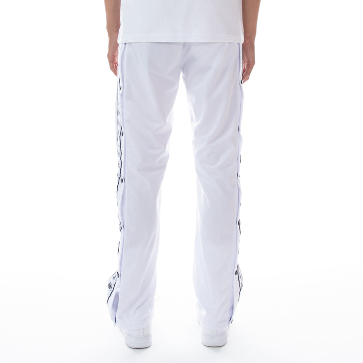 222 Banda Astoriazz Snap Trackpants White Black