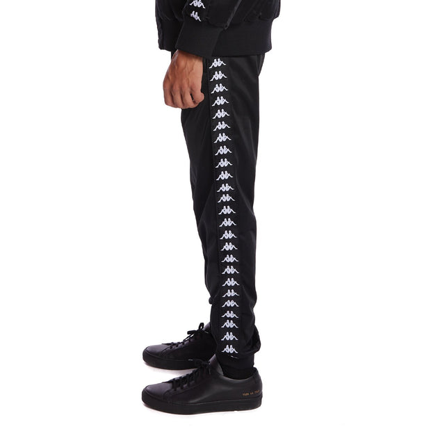 Kappa 222 Banda Rastoriazz Trackpants - Black