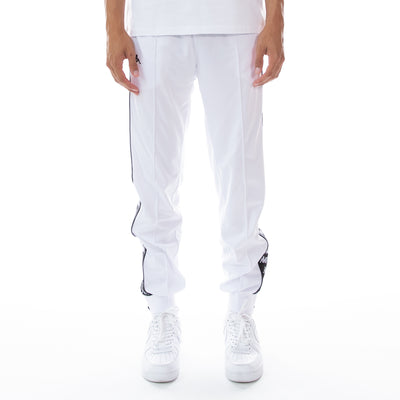 222 Banda Rastoriazz Trackpants - White Black