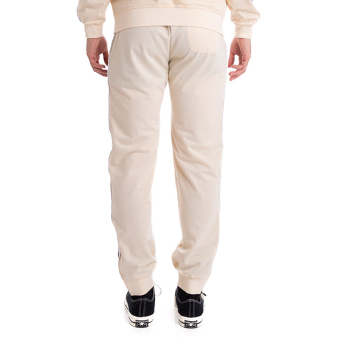 Kappa 222 Banda Rastoriazz Beige Grey Silver Black Trackpants