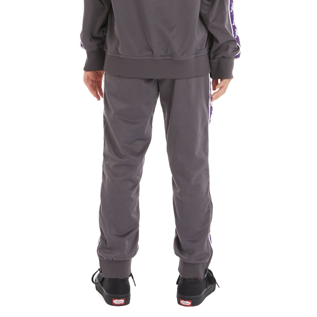 Kappa Kids 222 Banda Rastoriazz Trackpants - Dark Grey Violet Indigo