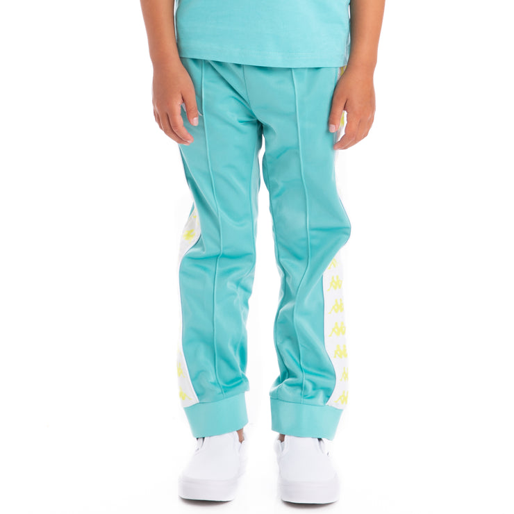 Kids 222 Banda Rastoriazz Trackpants Green Lt White
