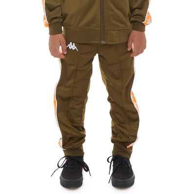 Kids 222 Banda Rastoriazz Trackpants - Green Oliva