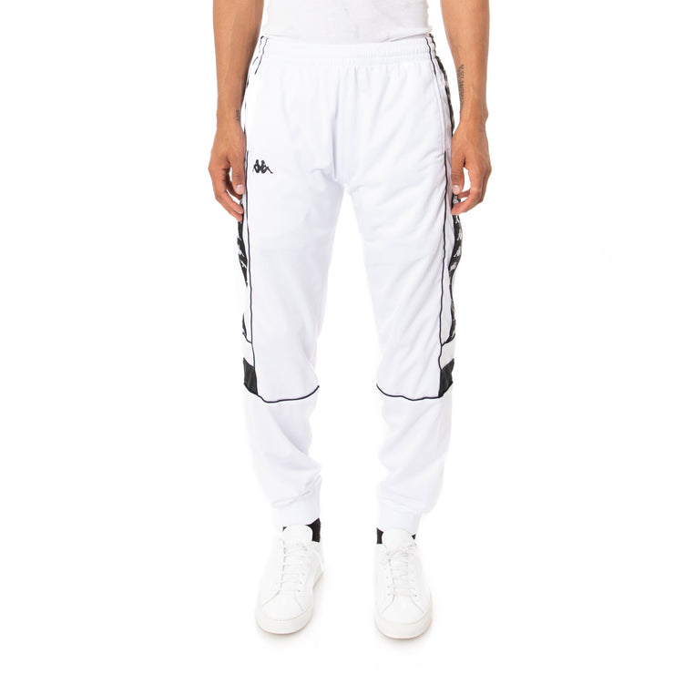 222 Banda Memzz Trackpants - White Black