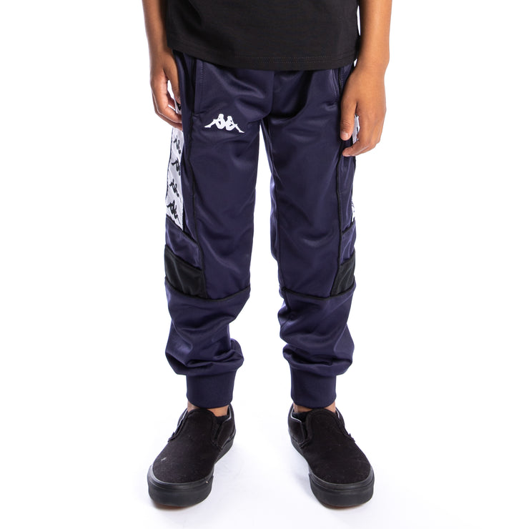 Kids 222 Banda Memzz Trackpants - Blue Marine White