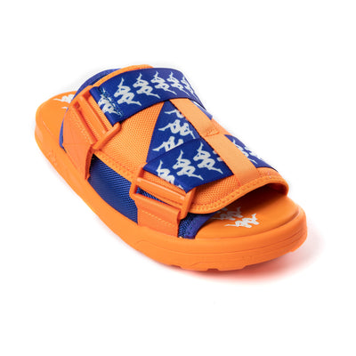 222 Banda Mitel 1 Sandals - Orange Blue White