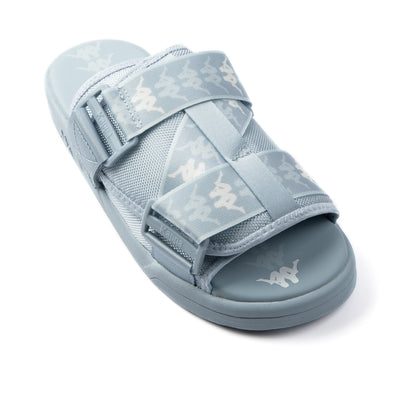 222 Banda Mitel 1 Sandals - Blue Ice White