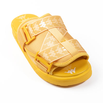 222 Banda Mitel 1 Sandals - Yellow White