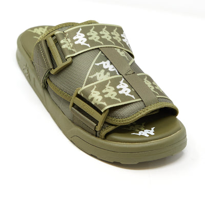 222 Banda Mitel 1 Sandals - Green Olive White