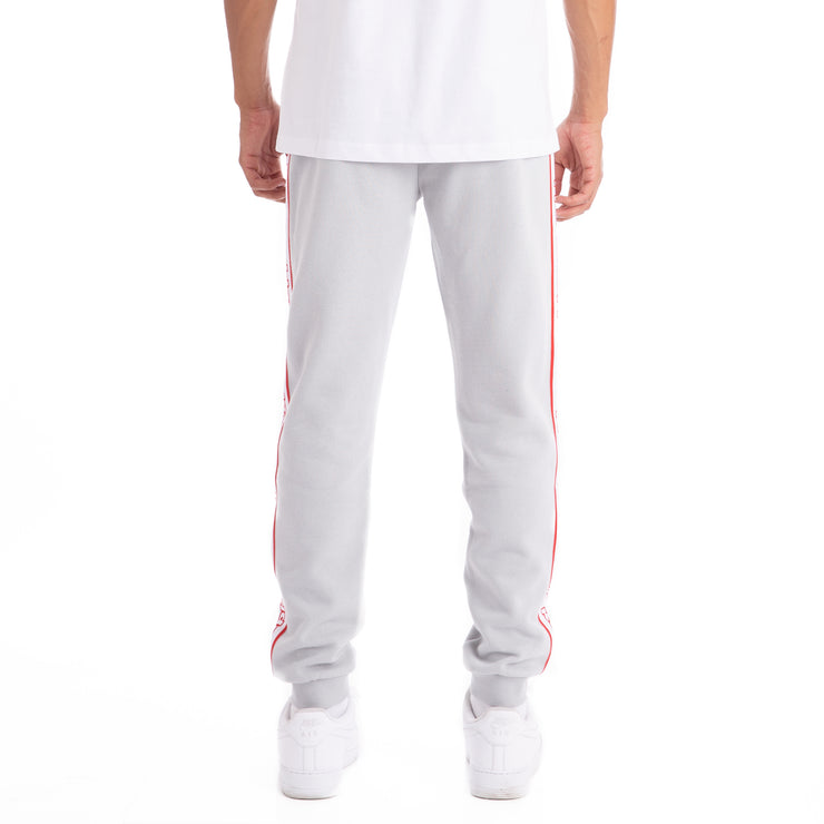 Logo Tape Alic Trackpants Grey Stone