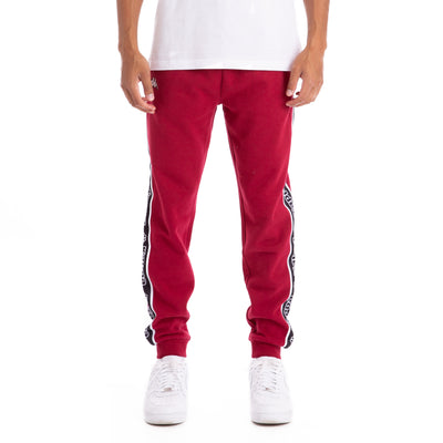 Logo Tape Alic Trackpants Red Dk White Black