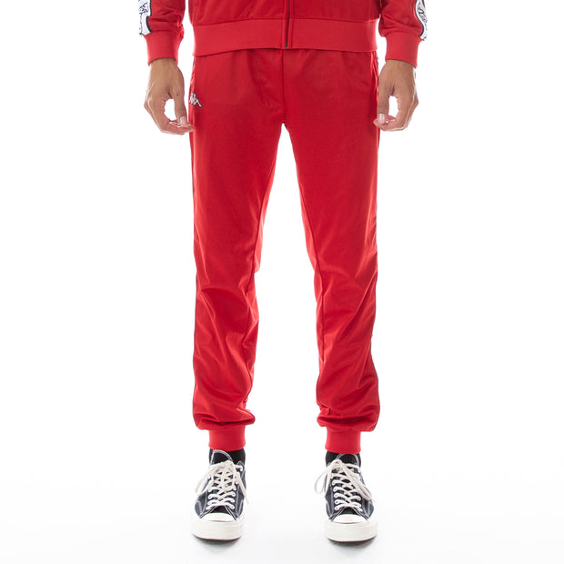 Logo Tape Alic Trackpants - Red White