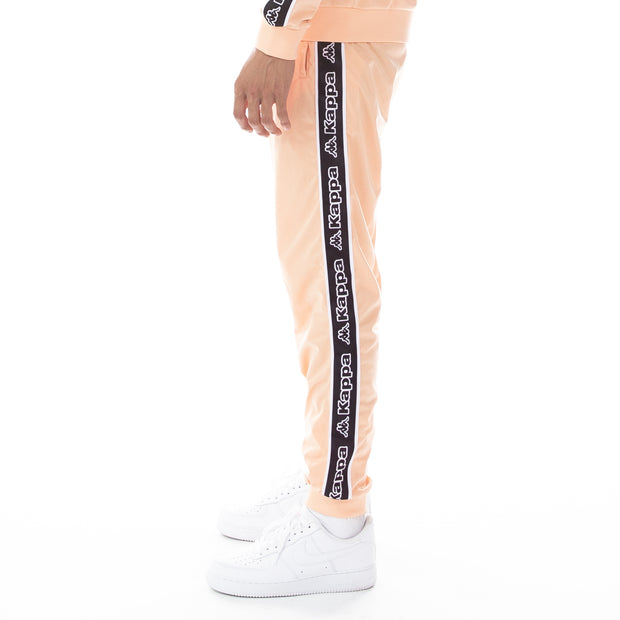 Logo Tape Alic Trackpants - Flesh Black White