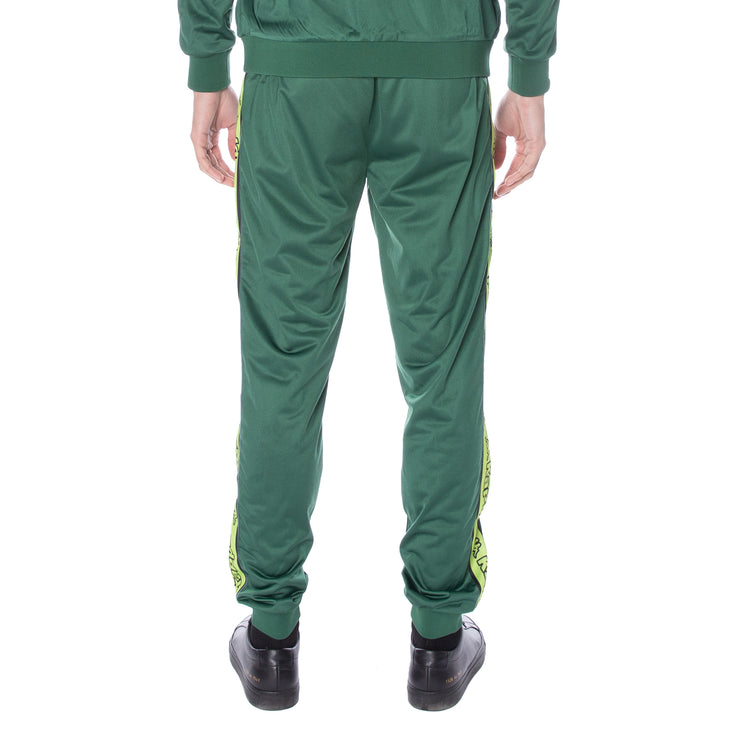 Logo Tape Alic Trackpants - Green Lime