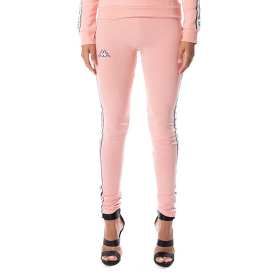 Logo Tape Arivo Leggings - Pink White Black
